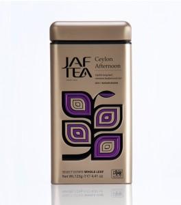 Classic Gold Ceylon Afternoon Tea Tin