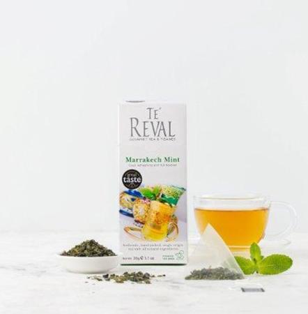 Te Reval Marrakech Mint green tea