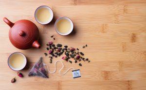 Heron Fine Foods tea fro three