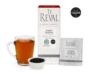 Te' Reval award winning English Breakfast loose tea