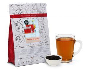 Te' Reval award winning English Breakfast tea