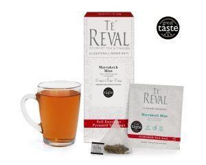 Te' Reval award winning Marrakech Mint tea