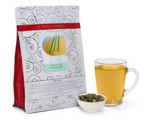 Te' Reval Green Tea Lemongrass loose leaf